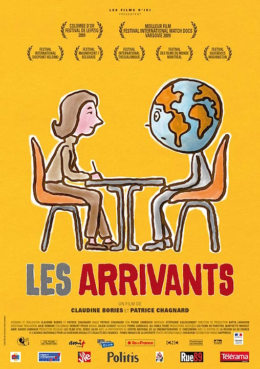 Les Arrivants, Claudine Bories, Patrice Chagnard, France, 2010, 113'