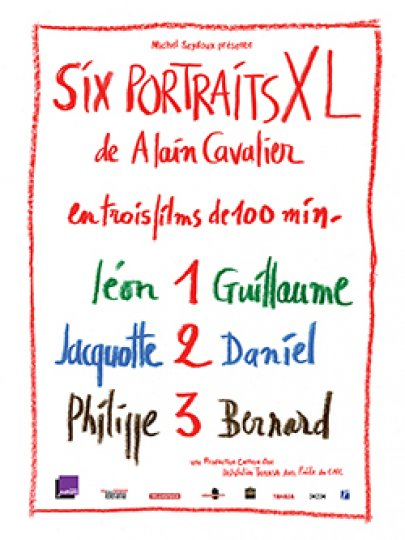 Six portraits XL, Alain Cavalier, France, 2018, 312'
